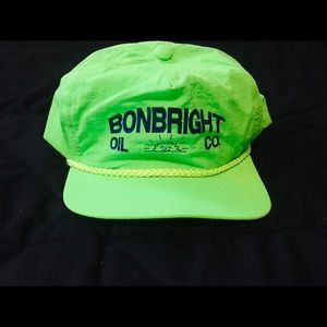 Other - Vintage 80s Neon Trucker Hat 💚😎